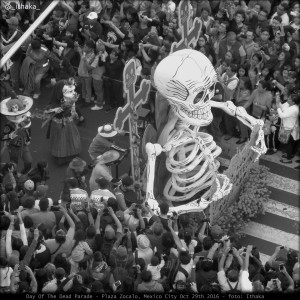 Day Of The Dead Parade, Mexico City
