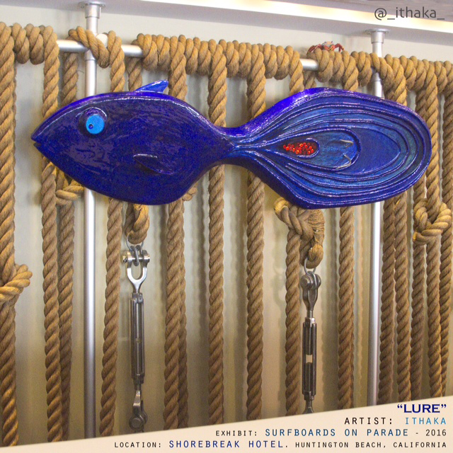"""""""Lure 6"""" a sculpture by Ithaka"""